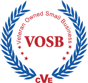 Veteran business logo in the footer.